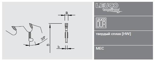 Дисковые пилы Leuco для многопильных станков для сухой древесины - малый диаметр - тонкий пропил